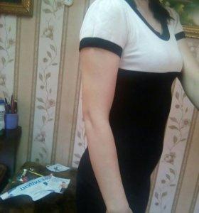 Платье трикотаж машинная вязка