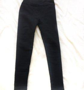 Леггинсы-брюки с начёсом