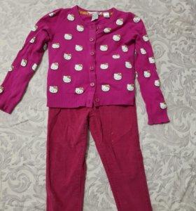 Детская одежда на 3-4 года