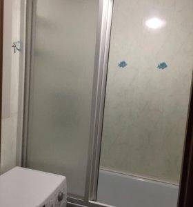 Пластиковая штора на ванну 170 см