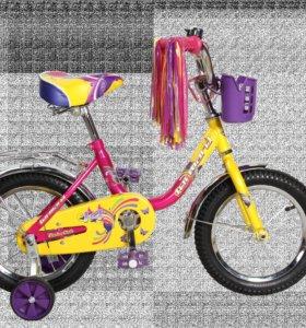 Детский велосипед forward racing 14