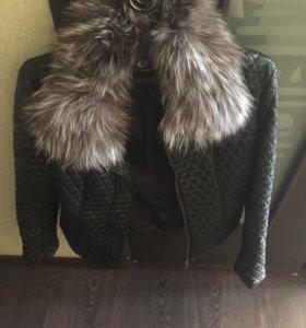 Куртка-кожанка