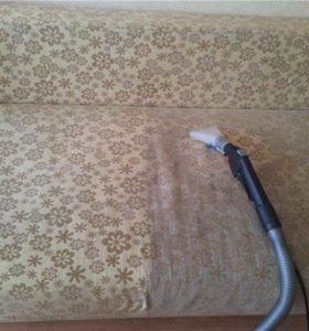 Химчистка диванов, ковров, матрасов с Гарантией