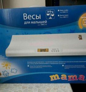 Электронные детские весы Maman