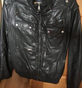 Куртка демисезонная (кожзам)