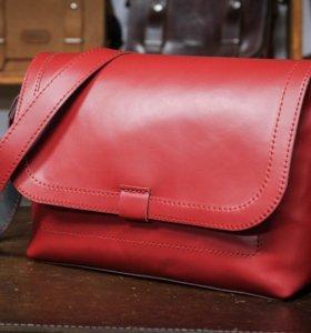 Женская сумка из натуральной кожи ручной работы