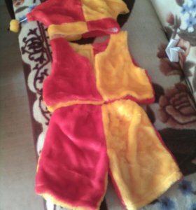 Детский костюм ( петрушка)