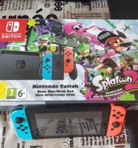 Nintendo switch плюс 4 игры.