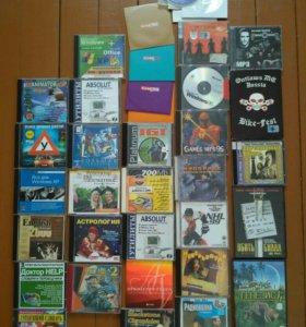 Компакт диски: музыка, фильмы, энциклопедии