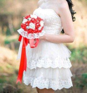 Платье свадебное-выпускное-вечернее