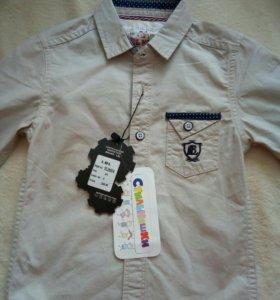 Рубашка на мальчика 1-2 года
