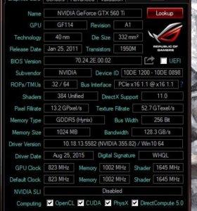 INNO 3D GTX 560ti
