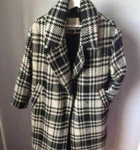 пальто oversize Zara