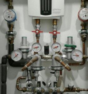 Водопровод. отопление. канализация