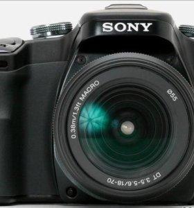 Sony alpha 100 Kit