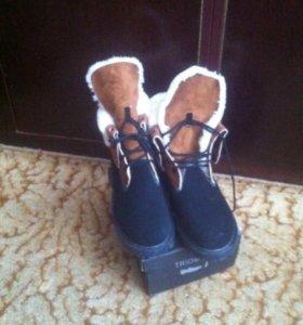 Ботинки зимние 44-45