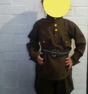 Военный костюм(аренда)