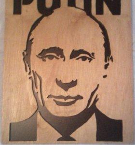 3D портрет В.В.Путина