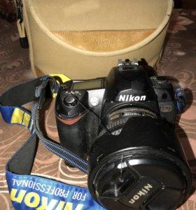 Фотоаппарат Nikon D70 б/у