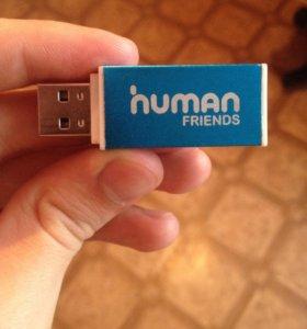 Переходник USB- Для микро флешки.
