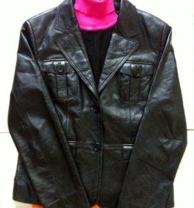 Германия 46 р.кожаная куртка - жакет