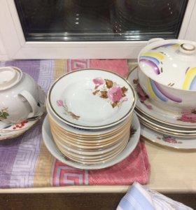 Посуда разная