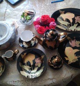 Сервиз столовый+чайный на 12 персон 70 предметов