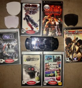 PlayStationPortable (PSP) 3008 + 7 игр