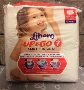 Трусики подгузники Libero UP&GO 16-26 кг