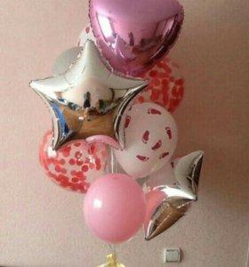 Воздушные шары. Шары с гелием