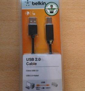 Кабель для принтера Belkin USB