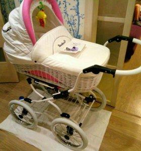 Немецкая коляска Reindeer+автолюлька+подарки