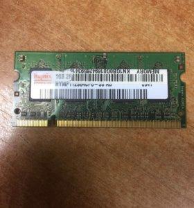 Память SO-DIMM DDRII 1024Mb 800MHz Hynix