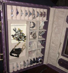 Набор бижутерии серебро Новый