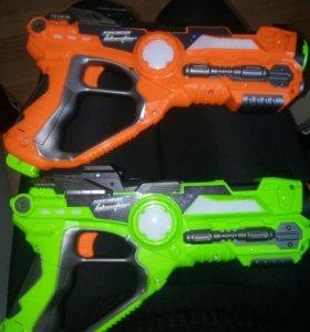 Пистолеты лазертаг