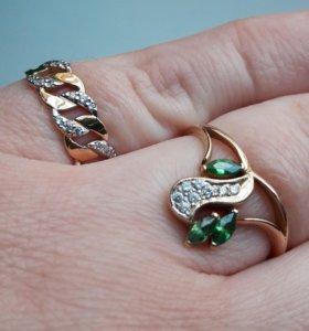 Продам кольцо золотое.