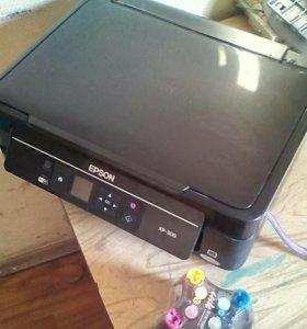 Мфу принтер сканер копир epson xp 300 ref. с снпч