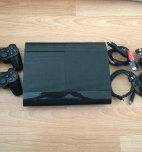Sony Playstation 3 500gb super slim 36игр