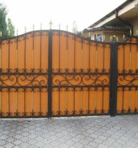 Кованые ворота 0,41,ковка
