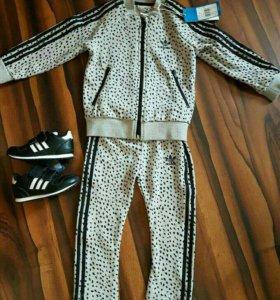 Спортивный костюм Adidas новый 92,  98 и 104 р.