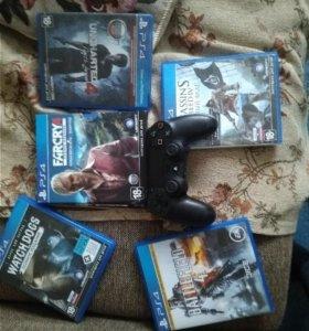 Игры и геймпад для пс 4