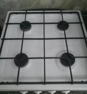 Плита газовая на 4 комфорки Б/У