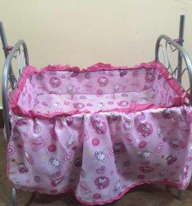 Кроватка детская игрушечная