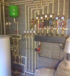Отопление, водоснабжение, канализация, вентиляция