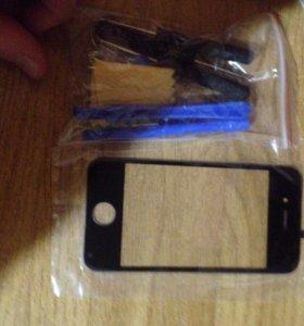 Стекло на iPhone 4s/4/4g