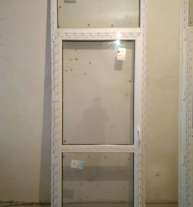 Двери металопластиковая