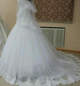 Свадеьное платье новое