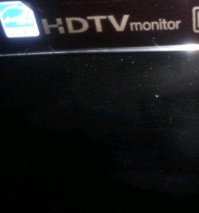 Монитор tv есть пульт не работает
