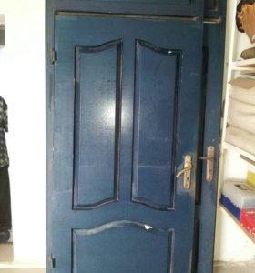 Дверь входная металлическая  феленчетая