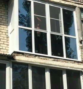 Натяжные потолки, окна ПВХ